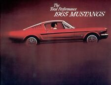 Classic Ford Mustang Sales Brochures 1965 Reproduction Vintage dealer literature