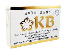 KB KYUSOKU BIHAKU GLUTATHIONE CAPSULES WITH VITAMIN C ROSEHIPS SKIN WHITENING