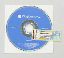 Microsoft Windows Server 2012 R2 Standard - 2CPU/2VM - Deutsch - mit DVD -