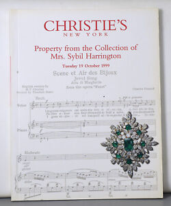 Sybil Harrington Collection Christie's Jewelry 1999 Auction Catalog 2035