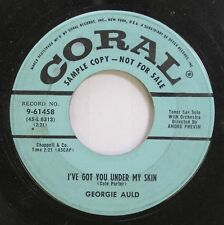 50'S & 60'S Promo 45 Georgie Auld - I'Ve Got You Under My Skin / Take Care On Co