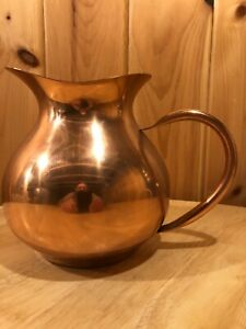 Tagus Copper Pitcher