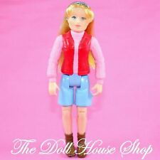 Fisher Price Loving Family Dollhouse Blonde Camper Mom Camping Mother Doll