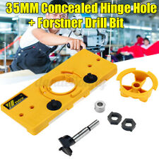 25MM Concealed Hinge Hole Jig Drill Guide + Cutter Bit For Cabinet