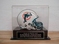 Display Case For Your Dan Marino Dolphins Autographed Football Mini Helmet