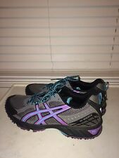Asics Gel-Enduro 8 Women's Trail Running Shoes, size 11M – Gray/Purple