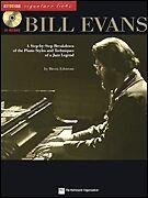 BILL EVANS JAZZ PIANO LICKS SHEET MUSIC SONG BOOK W/CD
