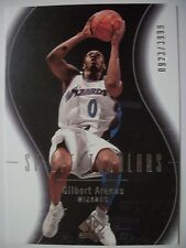 2003-04 SP AUTHENTIC GILBERT ARENAS # 126 , WIZARDS !!! BOX # 33