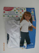 "Springfield 18"" doll Clothes fits American Girl & Others- NEW- T-shirt and Jeans"