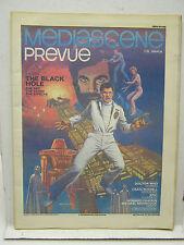 Sept/Oct 1979 MEDIASCENE PREVUE Magazine #39- THE BLACK HOLE/DR WHO