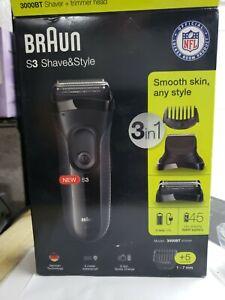 Braun s3 Shave & Style