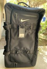 Nike FiftyOne49 Roller Large Luggage Bag Suitcase Black New