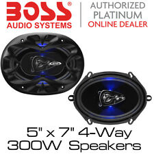 "FORD KA, Transit, Focus, Fiesta 5""x7"" 4 Way Coaxial Car Door Speakers 300W"
