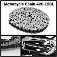 KMC 420 128 Links Drive Chain For Dirt Pit Quad Bike Suzuki JR50 : 1986–2006