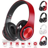 Wireless Bluetooth 5.0 Headphones Foldable  Earphones Noise Cancelling Headset