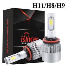 Headlight Kit H11 LED 6000K 180W 18000LM White High Power 2x Low Beam Bulbs