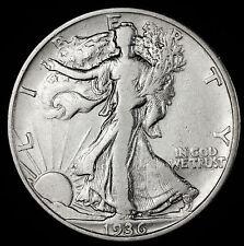 1936-d Walking Liberty Half.  Better Grade.   (INV. A)
