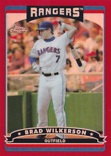 2006 Topps Chrome Red Refractors #16 Brad Wilkerson #/90