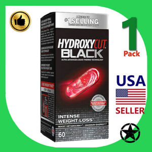 1 Pack Hydroxycut Unisex Thermogenic and Weight Loss Supplement 60 Capsules