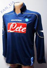 SHIRT Maglia CALCIO SSC Napoli MATCH WORN Jersey diadora Camiseta 2008/2009
