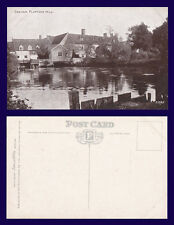 UK ESSEX DEDHAM FLATFORD MILL PUBLISHED BY THE PHOTOCHROM COMPANY CIRCA 1910