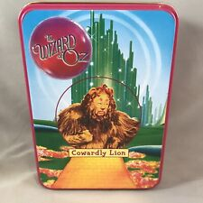 2000 Wizard Of Oz San Francisco Music Box Ornament In Tin Cowardly Lion Nib