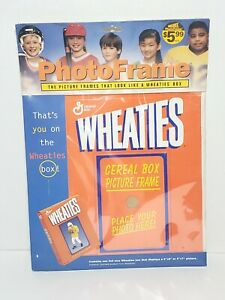 Vintage Wheaties Cereal Box Picture Photo Frame Great For Kids School Athletes