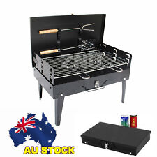 Outdoor Portable & Foldable Charcoal BBQ Grill Hibachi Picnic Barbecue BBQs
