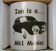 Mk1 Escort Personalised Coffee Cup Crimbo Man Cave Gift RS2000 Mexico
