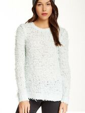 NWT Free People Polar Bear Soft Pullover Sweater Top Mint Green S Anthropologie
