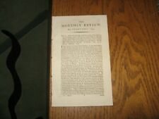 1814 Monthly Review Lord Byron, Italian Travel, Norway, W.E. Leach, Montgomery