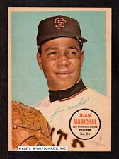 1967 TOPPS PIN-UP POSTERS #28  Juan Marichal  SAN FRANCISCO GIANTS  HOF  NM   A