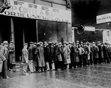 DEPRESSION ERA SOUP KITCHEN 8X10 PHOTO CHICAGO 1931