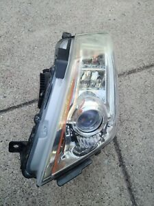 08-14 CADILLAC CTS HID XENON LH Left Driver  HEADLIGHT HEAD LIGHT Lamp 25897359