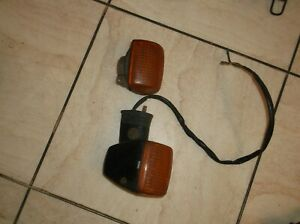 honda vfr 400 nc 24 front indicator complete and indicator lens