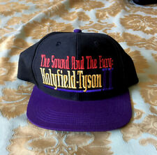 Vintage Holyfield vs Tyson II 1997 Snapback Hat MGM June 28th New Condition
