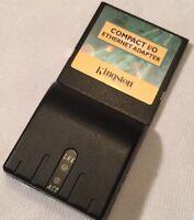 Kingston Technology Cio56k Compact I/o 56k Modem Compactflash Pcmcia Type Ii