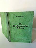 Schifferer Die Strabenverkerkehrs Ordnung German 1937 Rare Vintage RA46