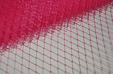 Birdcage PINK Veil Millinery Net Russian Net 1/2 Yard 45 cm Veiling wedding