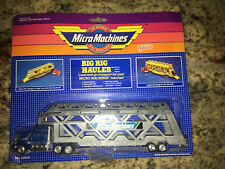 Micro Machines Big Rig Hauler Car Transport (1988) Toy Carrier New