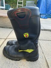 More details for genuine issue fire fighter boots, size 10.5