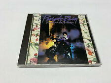 Prince - PURPLE RAIN - French grey labelside target CD © 1984 (made in france)
