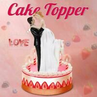 Mr And Mrs Wedding Cake Topper Brides Groom Dancing Resin Couple Figurines C8R1