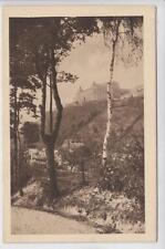 AK Kulmbach, Die Plaßenburg v. Kohlenbachtal aus, 1924