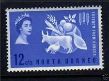 Mint Never Hinged/MNH North Bornean Stamps