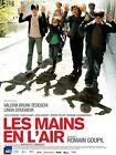 Affiche 120x160cm LES MAINS EN L'AIR (2010) Romain Goupil - Tedeschi TBE