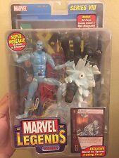 Marvel Legends Iceman Series 8 Action Figure Comic ToyBiz MOC New & Sealed X-Men