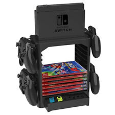 Game Storage Tower Bracket Stand Fr Nintendo Switch Disc Console Host Controller