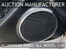 Toyota Celica Mk6 T200 94-99 Polished Aluminum Speaker rings for doors 2pcs