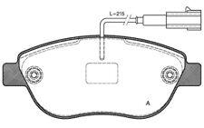 4x OPEN PARTS Pastillas de Freno Delanteras Para FIAT DOBLO BPA0859.11